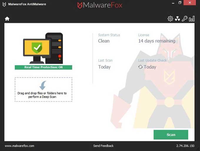 MalwareFox-Dashboard