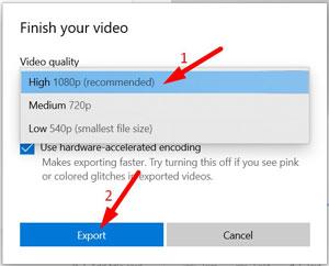 Trim Videos on Windows 10 -13