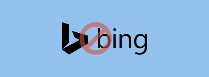 Remove Bing From Windows 10
