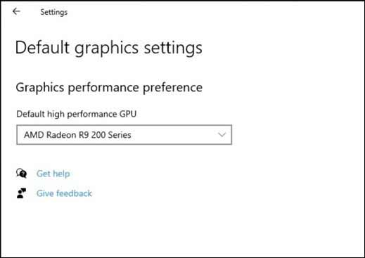 new graphics settings