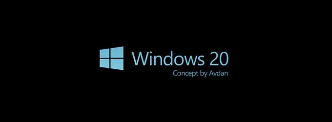 windows 20 concept