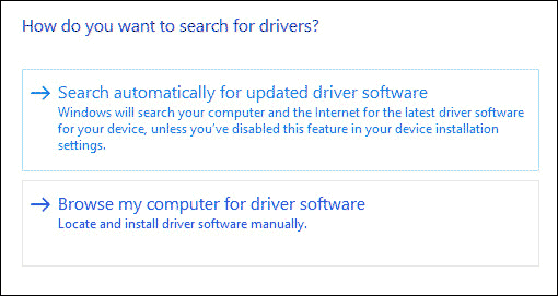 How to install drivers