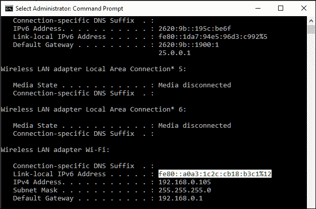Command Prompt Text Select