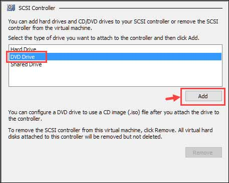 select DVD drive
