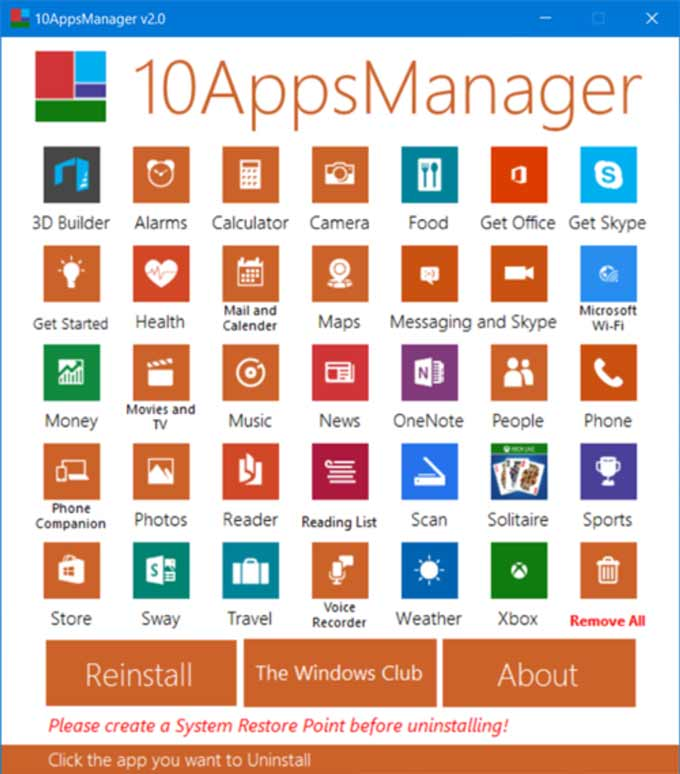 10 Apps Manager