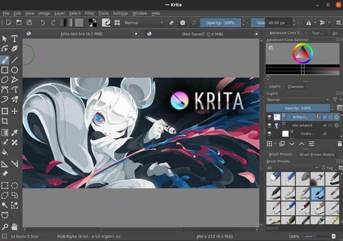 Krita Image-Editor