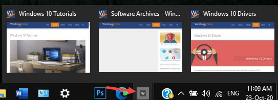 Taskbar Pinned Sites