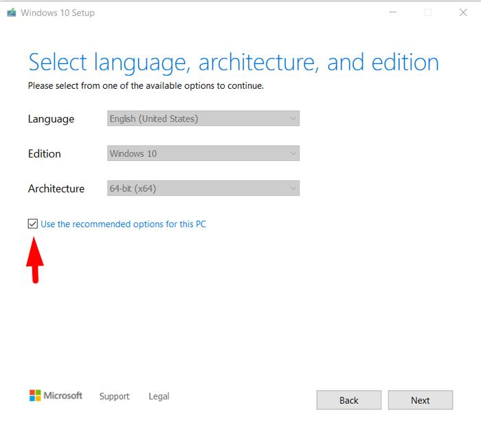 Create Bootable Windows 10 USB Drive 3