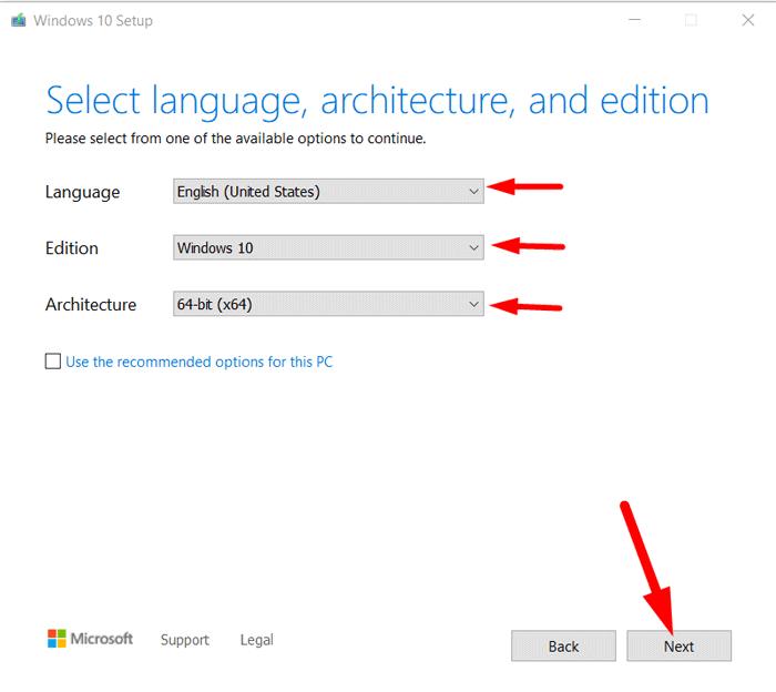 Create Bootable Windows 10 USB Drive 4