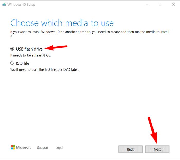 Create Bootable Windows 10 USB Drive 5