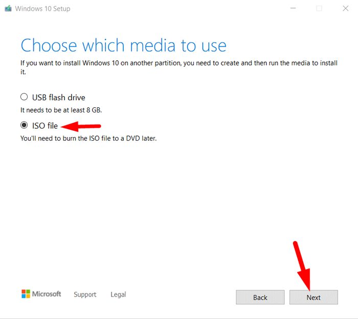 Create Bootable Windows 10 DVD 1