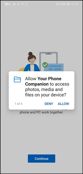 Allow-media-Access-to-Your-Phone-Companion