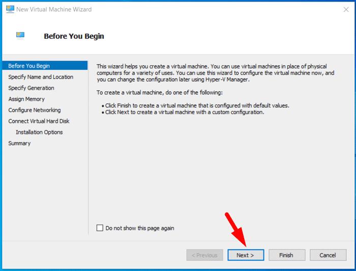 Create Windows 10X Virtual Machine 2