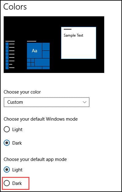 Dark-Mode-File-Explorer