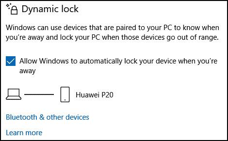 Dynamic-Lock-enabled