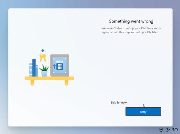 Set up Windows 10X 9