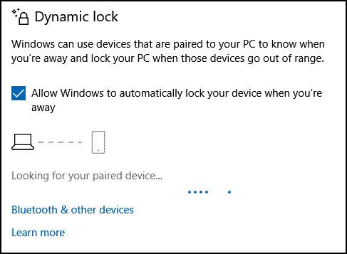 enable-Dynamic-Lock