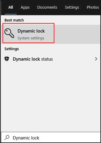 open-dynamic-lock-settings