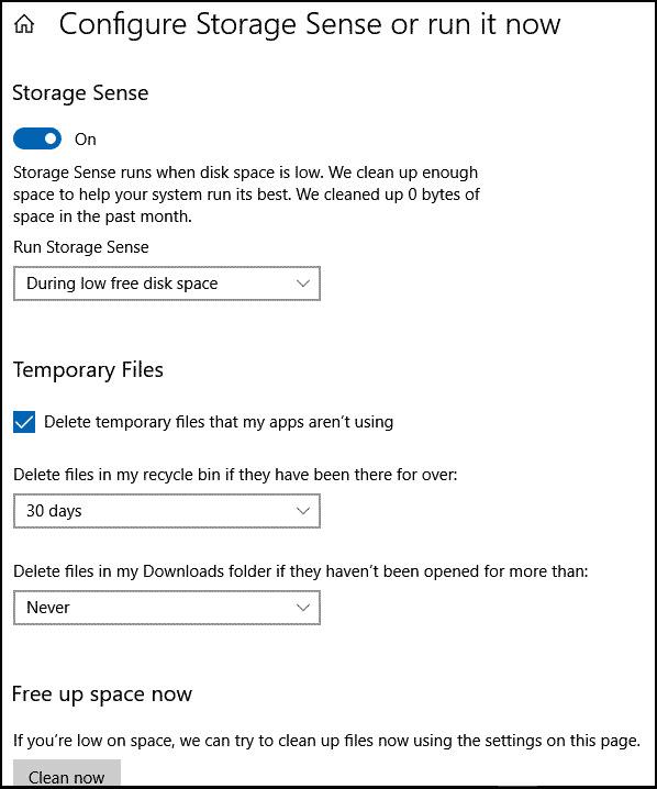 set-Storage-sense