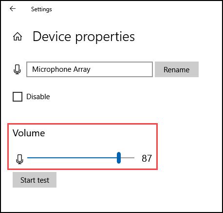 increase the volume level