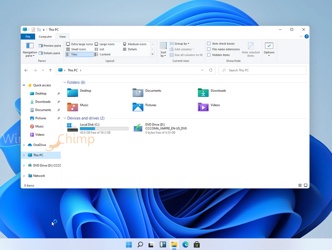 Windows 11 File Manager