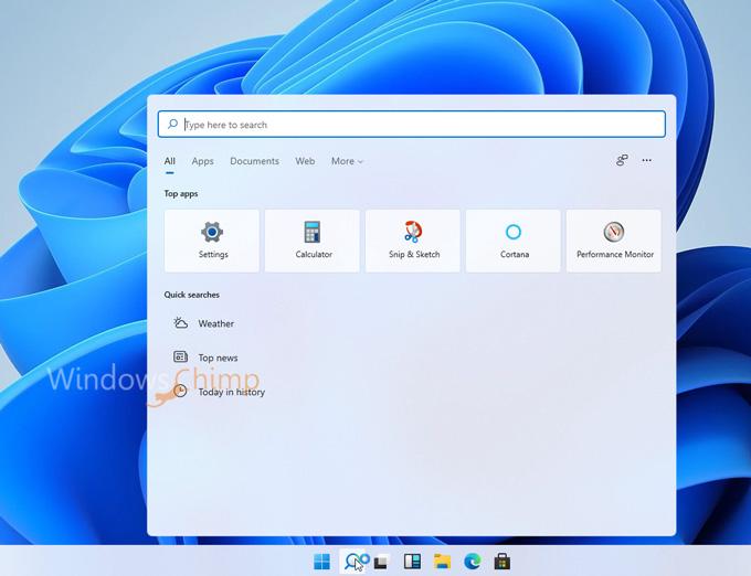 Windows 11 Search Box
