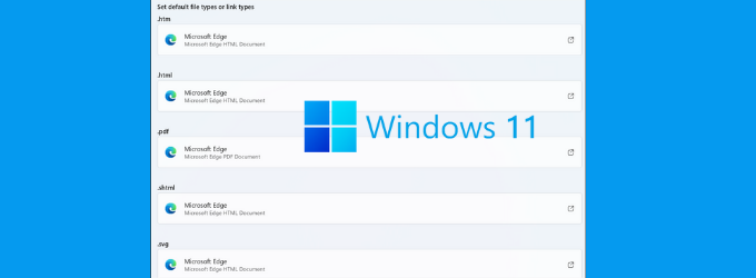 Windows 11 will make it hard to Change Default Web Browser