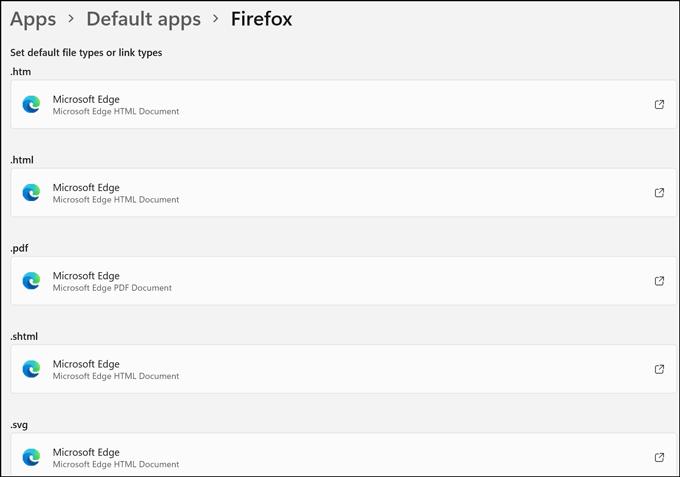 change default to Firefox