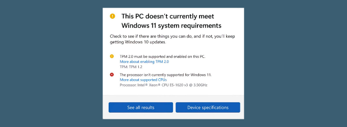 How to Install Windows 11 on Unsupported PCs