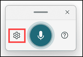 Windows 11 voice typing tool settings